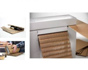 Perforadora de cartón HSM Profipack 400